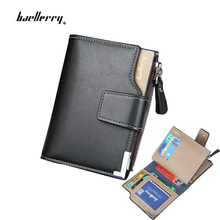 Men wallets zipper wallet men Microfiber leather fashion Top quality male purse wallet women short trifold Wholesale Price !