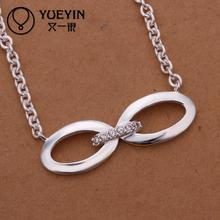 Wholesale silver jewelry hot marketing popular chain necklace jewelry Innovative style jewelry nice gift for wife(China)