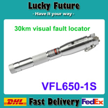 Optical Fiber Cable Fault Locator fiber testing BOB-VFL650-1S pen type visual fault locator telecom equipment 30mw