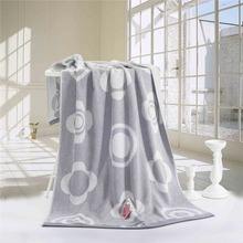 Bath Towel 100% Egyptian Cotton Jaquard Adult Baby Kids Towels Grey Brown Bathroom Beach Travel Golf Towel High Quality Healthy