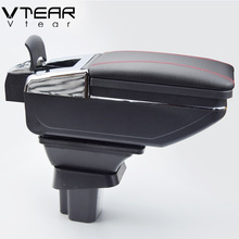 Vtear For SUZUKI SX4 armrest box central Store content box cup holder ashtray decoration products interior car-styling 06-13