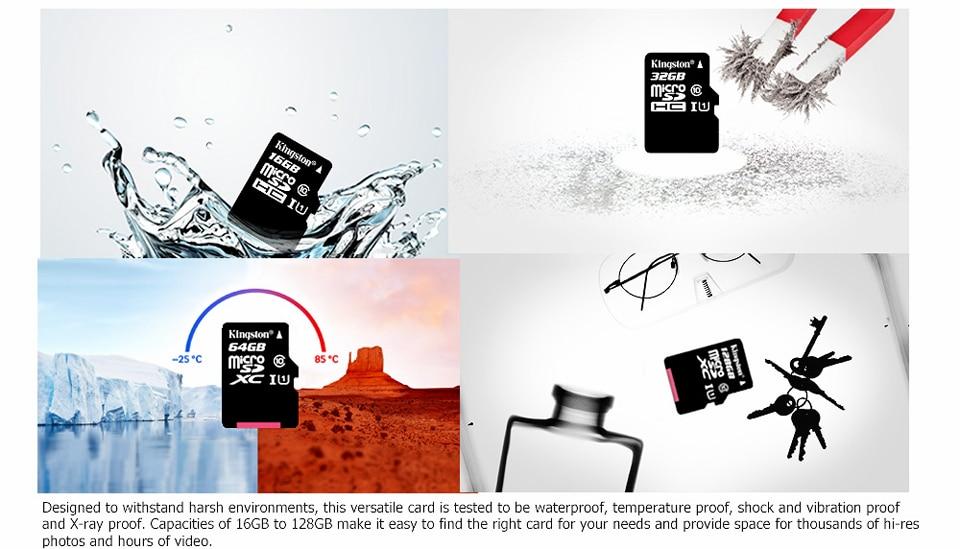 Kingston Class10 Micro Sd Card 16GB Memory Card Mini Sd Card16GB SDHC TF Card For Sony xperia z2 z3 z5 For HUAWEI p7 8 9mate9 (5)