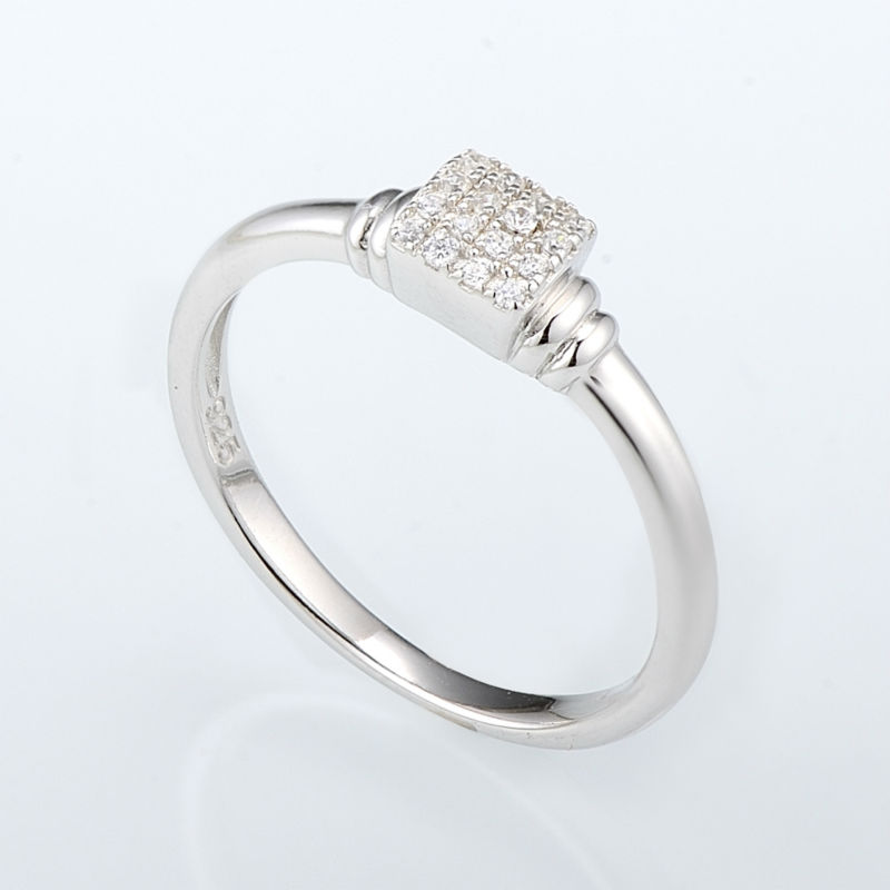 R307091WCZSL925-SV4-Silver Ring