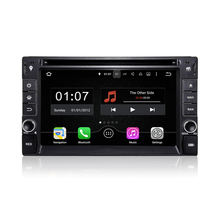 "6.2"" Double 2 DIN Android Universal Car DVD Player Radio Stereo Quad Core 16G Mirror Link WIFI BT 800*480 Auto GPS Navigation"
