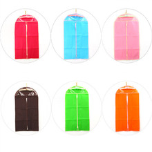 7 colors Suit Garment Bag Dress Jacket Shirt Dustproof Storage Cover Home Organizer Pretty Design