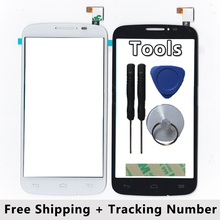 100% QC PASS Touch Screen Digitizer Glass Panel For Alcatel One Touch Pop C7 Dual 7040D 7040E 7041D 7040A 7040