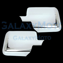 2004-2008 For Ford F150 ABS Chrome Mirror without Turn Light Signal Full Cover Pair 2006-08 for Lincoln Mark LT