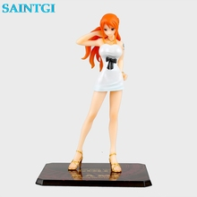 SAINTGI One Piece Nami BB 2.0 Sexy Bikini Swimsuit MH POP Anime PVC Figure New World 2 years later Straw Hat Pirates collection(China)