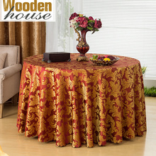 Fashion Modern Pattern Polyester Round Table Cloth Rectangular Tablecloth Wedding Table Cloth Restaurant Table Cloth