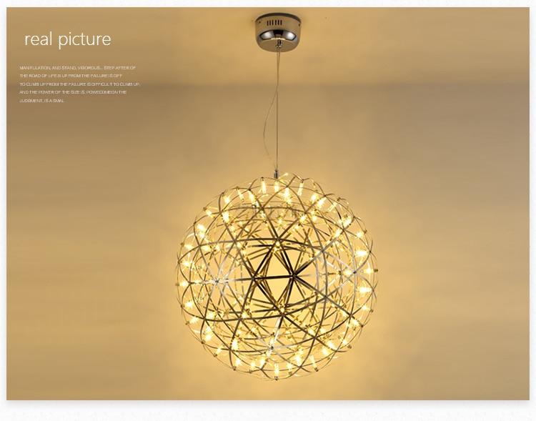 Ditoon Firework Led Pendant Light (4)