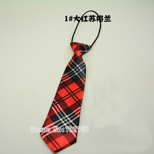 Lovely Scotland printed Plaid children's Necktie kindergarten students's skinny Tie baby's Party slim cute British style ties