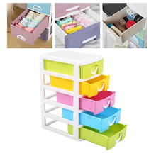 Hot Selling Mini Five Layers Storage Cabinet Drawer Type Cosmetics Multifunction(China)