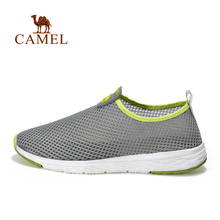 Camel outdoor walking shoes Men breathable shock absorption low-top light shoes comfortable walking shoes A712330525