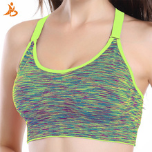 High Elastic Quick Dry Sports Bra For Wome Breathable Camouflage Outdoor Brassier Fitness Tight Yoga Tranning Running Underwear(China)