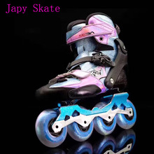 Japy Skates Original 2017 SEBA KSJ-J Junior Child Inline Skates Carbon Fiber Kid's Roller Skating Shoes Slalom Sliding Patines(China)