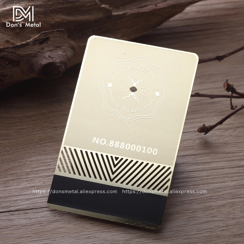 Stainless steel mirror card making mirror membership card design ...