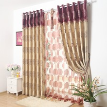 Blackout Blinds Tree Window Drapes Insulated Thermal Roman Shades Curtains Thick Window Treatments Double Suede Panel Partition