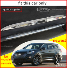body side moulding molding door sill scuff plate for Hyundai Santa Fe 2013-2018, different Santa Fe,different product(China)