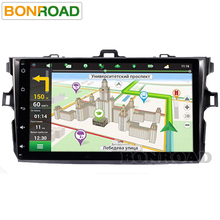 "9"" Quad Core 1024*600 Android 6.0 For Car PC Tablet For Corolla 2007 ~ 2011 GPS Navigation BT Radio Stereo Audio Player No DVD(China)"