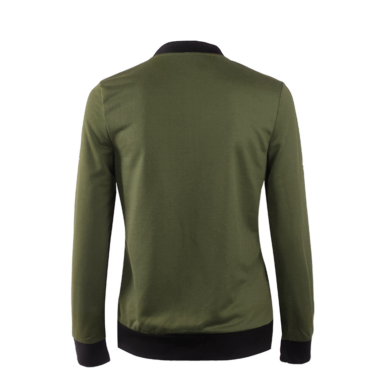 Hot Sprzedaż Jesień Tanie Ubrania Kobiet Małe Krótkie Kurtki Z Długim Rękawem Zipper Fly Outwear Kurtki Płaszcze Slim Cienkie Stylu topy Coat 9
