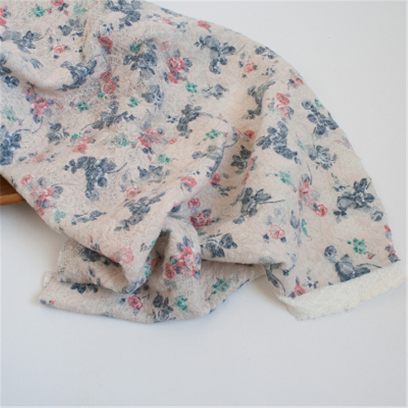 Fashion Newborn Baby Photography Props Floral Wrap Blanket Decorative Baby Shooting Flower Mat Retro Infant Photo Accessories 22