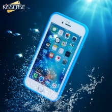 KISSCASE Waterproof Phone Case for iPhone 6 6s 6 6S Plus SE 5S Case Swimming Diving TPU Cover for iPhone 6 6S Plus 5S SE Coque