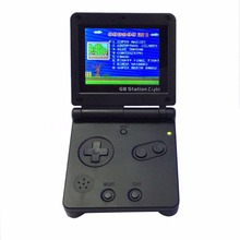 GB Station Light boy SP PVP Retro Mini Handheld Game Player Built in 142 Games Portable Video Console 2.7'' LCD 8 Bit Games(China)