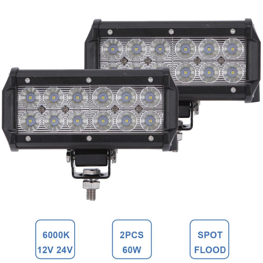 6 36W LED Work Light Bar 12V 24V Car Truck Auto ATV SUV 4X4 4WD Boat UTE RZR AWD Wagon VAN Camper Trailer UTV AWD Lamp Offroad<br><br>Aliexpress