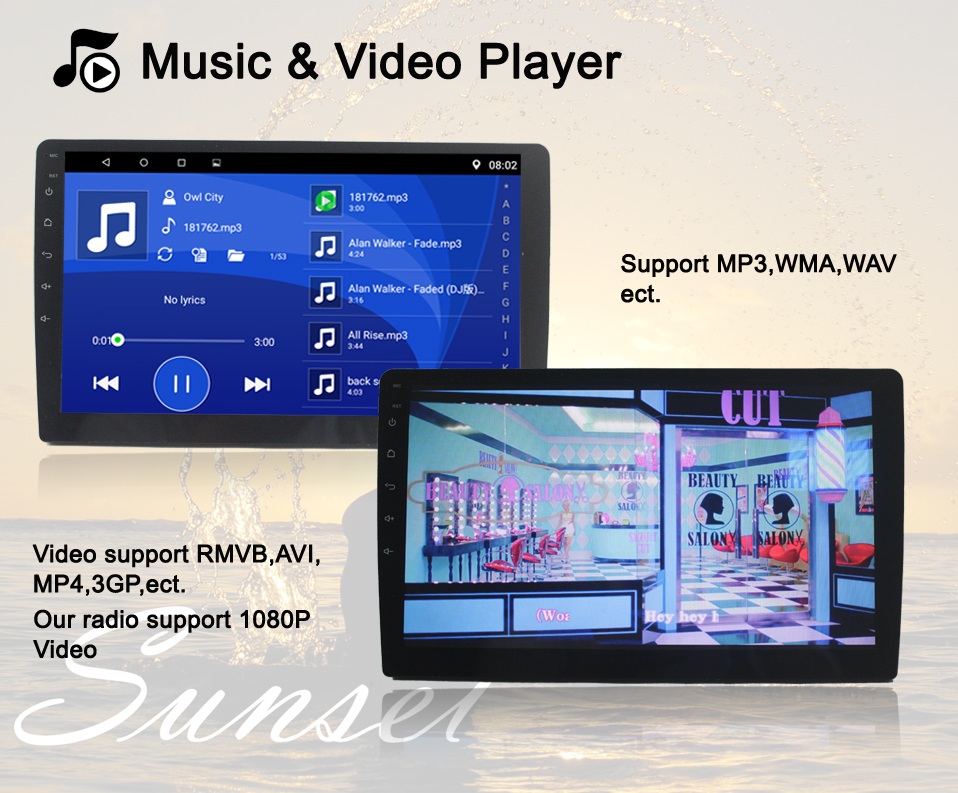 4 Music video player