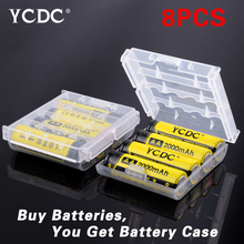 YCDC 18650 Battery Li-ion 3.7V 3000mAh AAA/AA Rechargeable Ni-MH 1000/2000mAh 1.2V Batteries Bateria - 3C Discount Store store