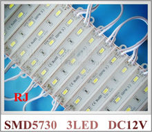 LED module wholesale 1000pcs X Epoxy waterproof LED module 5730 LED back lighting for sign 3*SMD5730 1W 100lm IP66 75mm*12mm CE