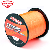 1PC Nylon Line 500M Orange Fishing Line 9.2kg Monofilament Line Japan Material BKY-BG same quality Fishline(China)