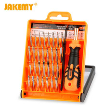 JAKEMY  32 in 1 Screwdriver Set Precision Repair Tools Kit S2 Alloy Steel Material Tool for Cell Phone IPhone for Notebook