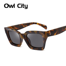 Luxury Rectangle Sunglasses Women Brand Designer PC Frame Gradient Lens Classic Rivet Shades Female Male Fashion Eyewear UV400(China)