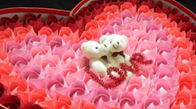 Wholesale 30pcs 8CM Mini Joint Bear Plush Stuffed Toy Doll , Wedding Gift Toy Bouquet Plush Doll Toy , Phone String Pendant TOY