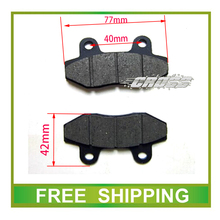 zongshen loncin lifan xmotos apollo kayo 50cc 70cc 90cc 110cc 125c dirt bike pit bike rear brake pads accessories free shipping(China)