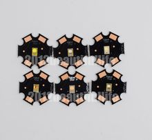 10pcs/lot 3W Luxeon Rebel ES CW WW Red Green Royal Blue Amber High Power Led on 20mm star