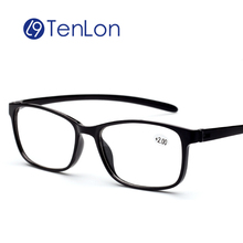TenLon Glasses Super-light TR-90 Resin Lens HD Men Reading Glasses Women lazy glasses gafas de lectura oculos de grau