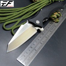 Eafengrow  Snake head G10 folding knife Imitate Medford knife Use 9cr steel +Hardness 59HRC ball bearing knives outdoor tool