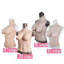 Buy C D E G Cup Liquid Fillers Artificial Silicone Breast Forms Fake Boobs Crossdresser Cosplay Transvestite Shemale Transgender
