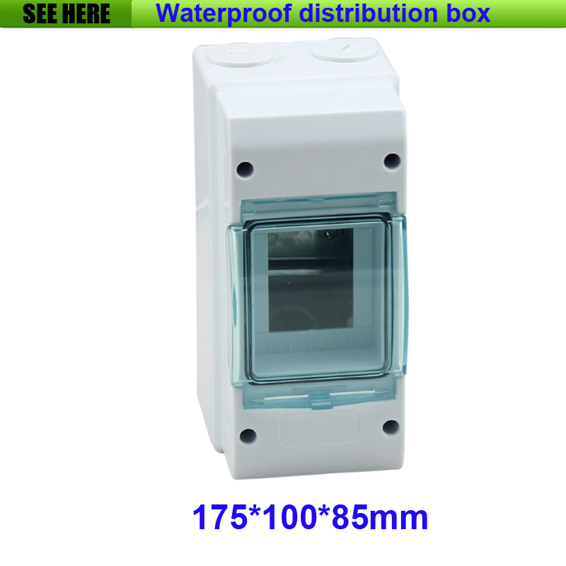 Free Shipping IP66 Waterproof Outdoor Distribution Box 3 Way Air Swith Box High-voltage Electrical Box 175*85*100mm<br><br>Aliexpress