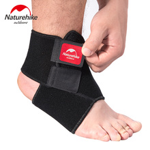 Naturehike Black Adjustable Ankle Support Pad Protection Elastic Brace Guard Support Ball Games Running Safety Gym Fitness 1Pcs(China)