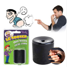 Antistress Le Tooter Create Realistic Farting Sounds Fart Pooter Gag Gift Novelty Funny Gadgets Black Prank Toys(China)