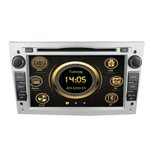 For LSQ Star Manufacturer For Opel Astra/ Antara/ Zafira/ Vectra Car Audio Player GPS ipod bluetooth 6 Disc SWC 3G hotselling(China)