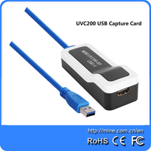 One channel hdmi hd usb capture 1080p/60hz UVC200 USB Capture Dongle support windows/linux/IOS operating system(China)
