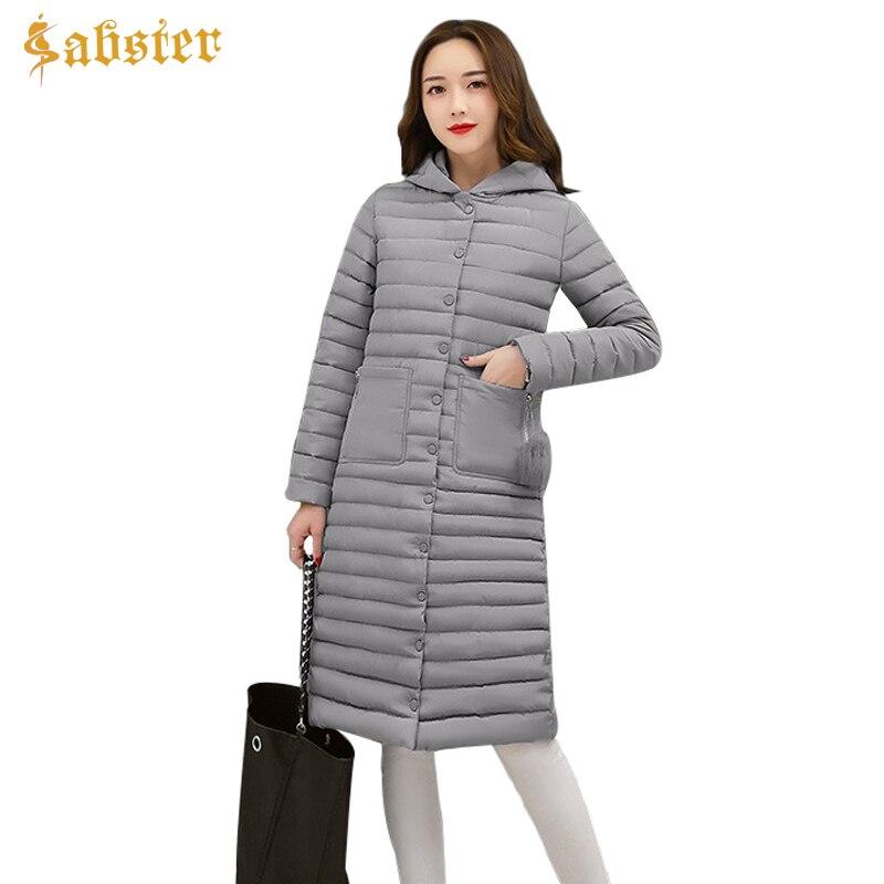 2017 New Korean Winter Women Coat Jacket Fashion Long Warm Woman Hooded Down jacket Cotton Parkas  Female Ladies ClothesÎäåæäà è àêñåññóàðû<br><br>