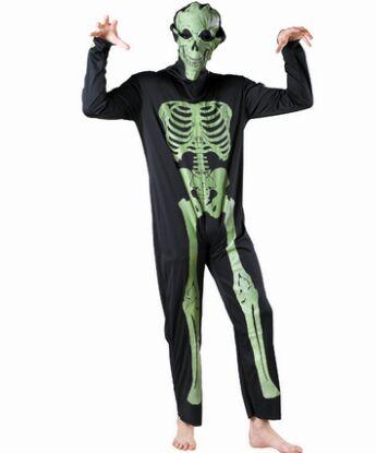 crneo negro traje para los hombres crneo cosplay de halloween disfraces cosplay para los hombres divertidos disfraces para adu