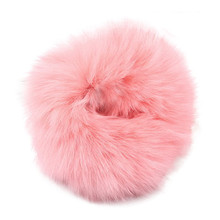 207 Hot sale New fahsion 1PX Rabbit Fur Hair Band hair accessories for women girls Elastic Hair Bobble Pony Tail Holder