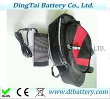 Electric bike battery 24v 13ah li-ion battery pack with bag with Sa msun g 2600mah battery cell