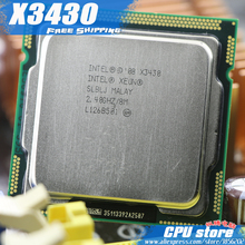 Intel Xeon X3430 cpu, / 2.4GHz / LGA1156 / 8MB /Quad-Core / Free Shipping ,Sale I5 650 i5 750 i5-760